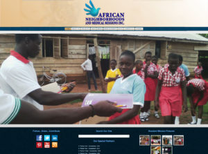 African Neighborhoods and Medical Missions (ANMM), Inc. - Website Launch