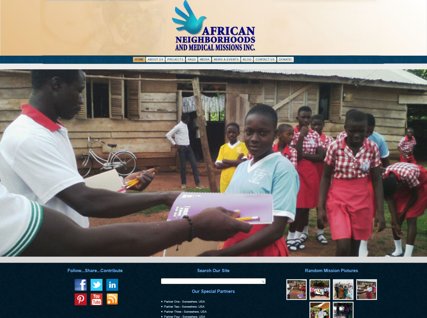 African Neighborhoods & Medical Missions, Inc.