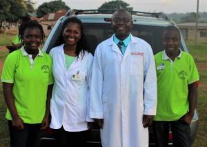 Dr.Ankamah and family saving lives, bringing hope to needy