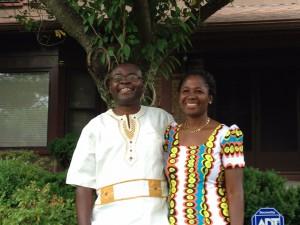 Dr. and Mrs Ankamah