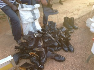 Much needed township security patrol boots