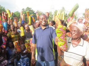 The widows project serving over hundred widows with traditional clothing