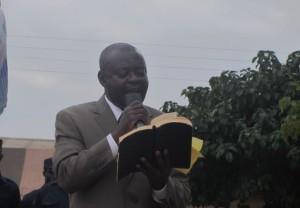 Evangelist Dr Ankamah on God'smission proclaiming the word.