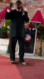 Evangelist Dr Ankamah God's Power at work.