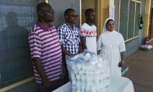 Donation-of medicines-St.-Mary's-Hospital-Drobo-Ghana- Missions-2016IMG 2414